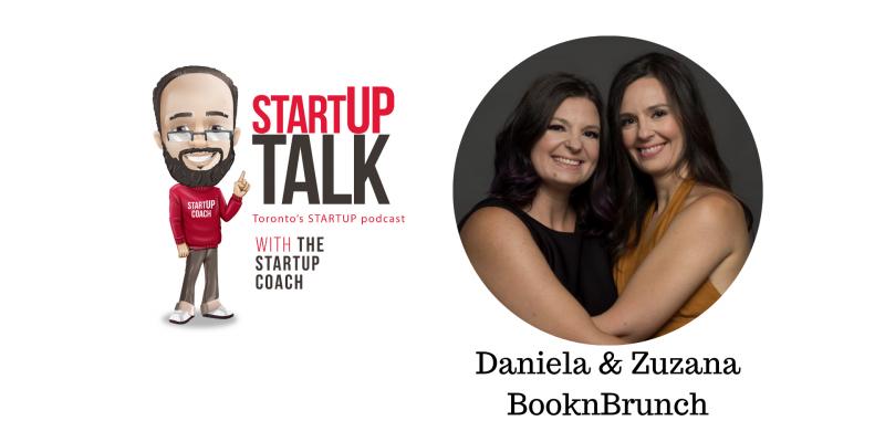 Startup Talk Podcast episode 16 Booknbrunch