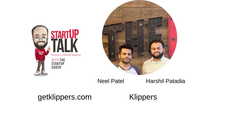 Klippers - Startup Talk podcast Toronto's startup Podcast