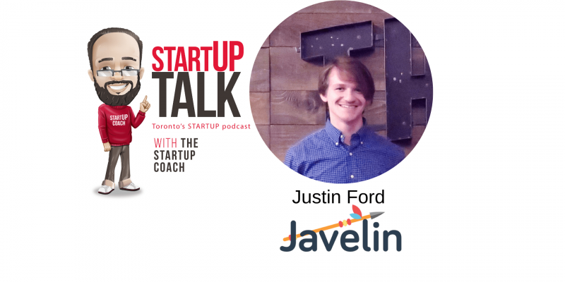 Startup Talk Torontos Startup Podcast Javelin Sports