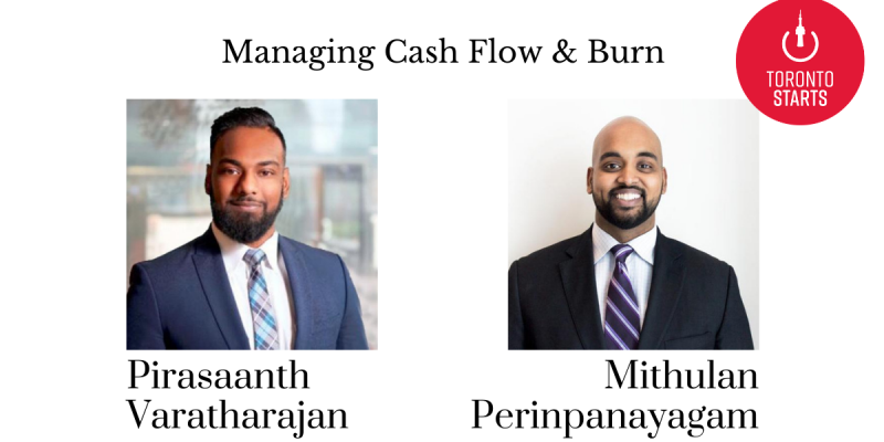 startup talk podcast managing cash flow and burn