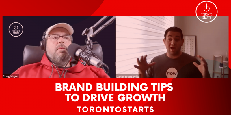 Brand Building Tips to Drive Growth The Startup Talk Podcast Header