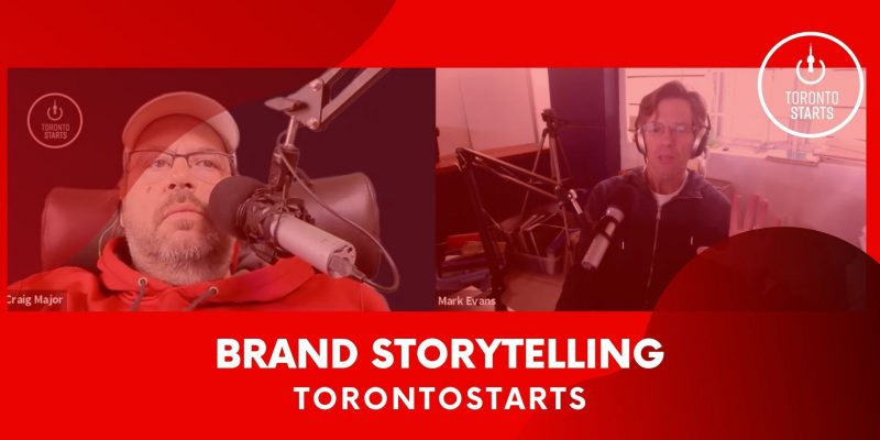 Brand Story Telling with Mark Evans on the Startup Talk Podcast