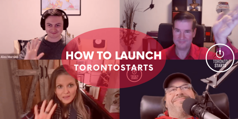 How To Launch The Startup Talk Podcast Header