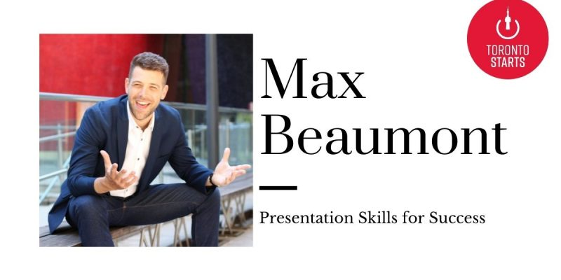 Presentation Skills for Success with Max Beaumont on Startup Talk Podcast