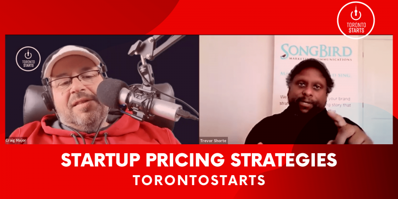 Startup Pricing Strategies with Trevor Shorte on Startup Talk Podcast header