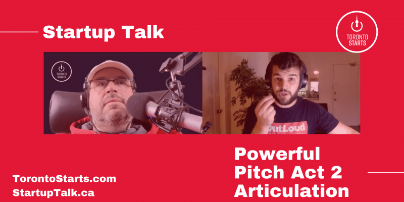 Startup Talk Podcast Powerful Pitch Act 2 Articulation with Will Greenblatt feature