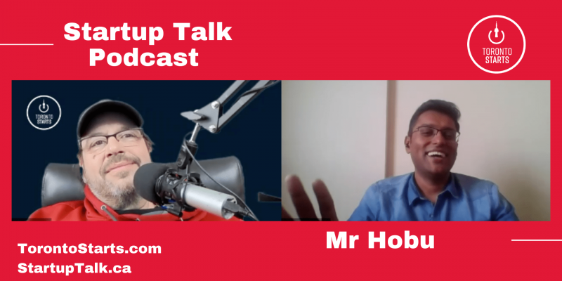 Startup Talk Podcast with Supratip Dutta of Mr Hobu Header