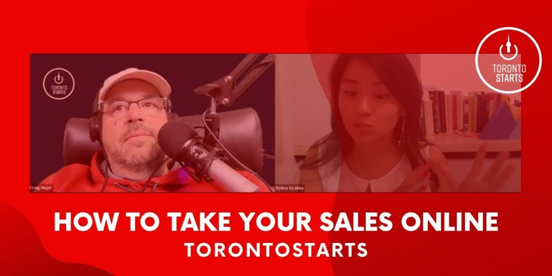 Take Your Sales Online Startup Talk Podcast