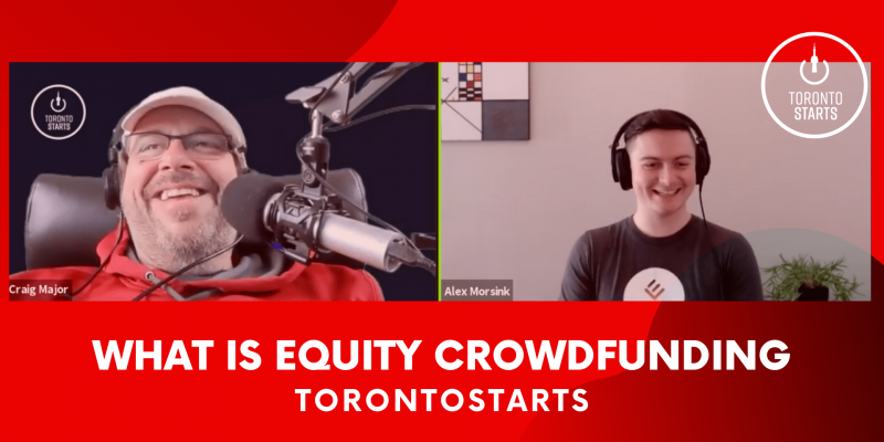 What is equity Crowdfunding Startup Talk Podcast header
