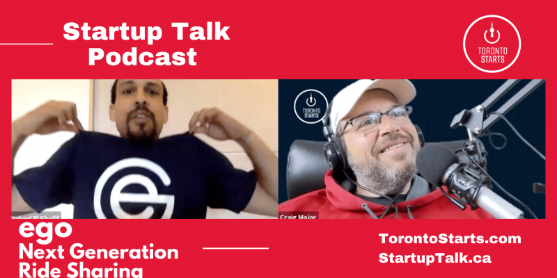 ego next generation ride sharing Startup Talk Podcast header