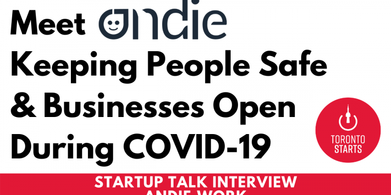 Andie on Startup Talk Podcast with the Startup Coach
