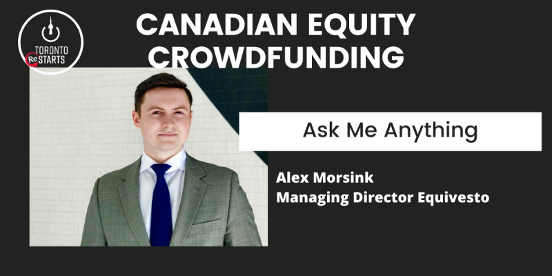 Canadian Equity Crowdfunding Ask Me Anything on the Startup Talk Podcast