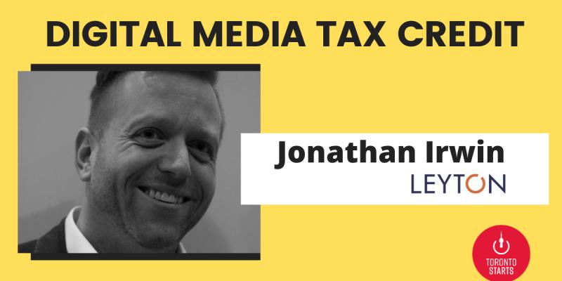 Digital Media tax credit on episode 96 of the startup talk podcast