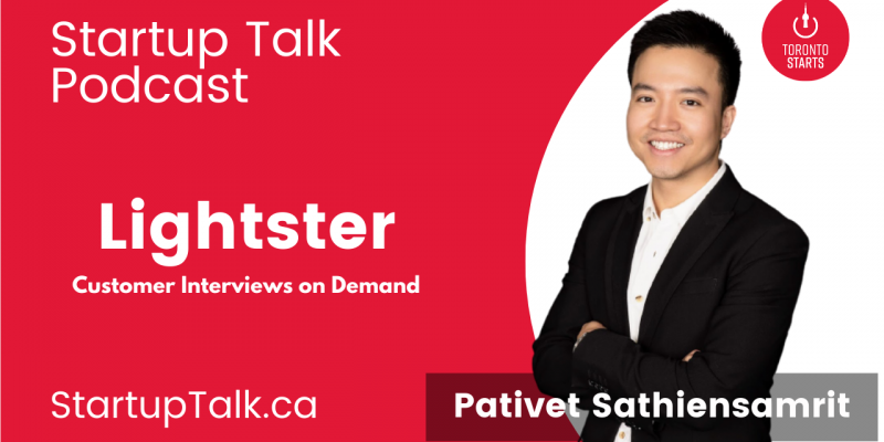 Lightster founder Pativet Sathiensamrit on the Startup Talk Podcast