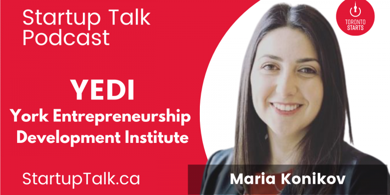 Yedi Director of Operations Maria Konikov on the Startup Talk Podcast