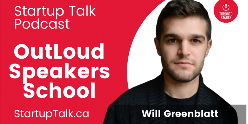 Outloud Speakers school on the Startup Talk Podcast site art